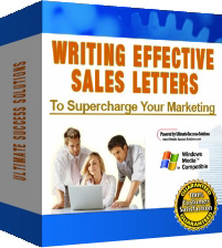 Writing Effective Sales Letters